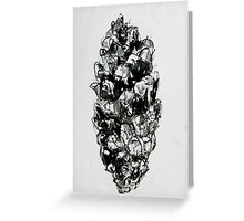Springfield pinecone2 Greeting Card