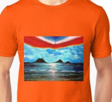 Under The Umbrella as Night Takes Over Unisex T-Shirt
