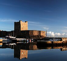 Carrickfergus Castle by Stephen Maxwell
