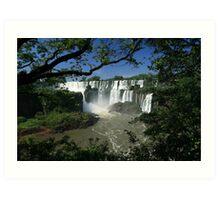 Iguaza Falls - Argentina Art Print