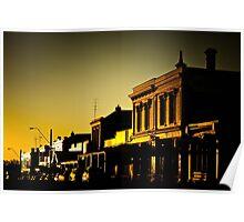 Kyneton Sunset Poster