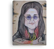OZZY caricature Canvas Print
