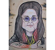 OZZY caricature Photographic Print