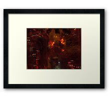 A multitude of reflection. Framed Print