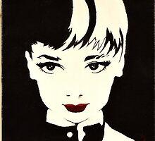 pop art audrey by oblistique