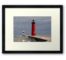 Pierhead Lighthouse Framed Print