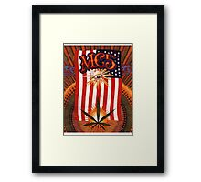 mc5 kick out the jams Framed Print