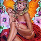 Red fairy by Italia Ruotolo