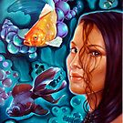Diving on the mind sea by Italia Ruotolo
