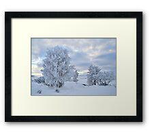 Winter Wonderland, Glencoe Framed Print