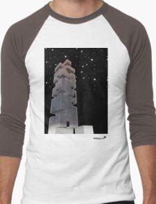 j-building by night Men's Baseball ¾ T-Shirt