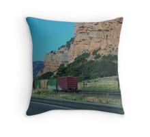 Whoo whoo....across Utah Throw Pillow