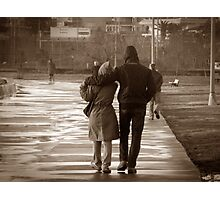 Love is a walking together ... Photographic Print