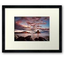 Tramonto surreale Framed Print