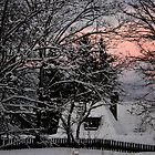 White silence before sunset by Bluesrose