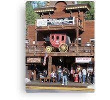 Rifle Saloon Bar, Rifle, Colorado. Canvas Print