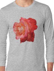 Ombré Red Garden Rose IV - Hipster/Pretty/Trendy Flowers Long Sleeve T-Shirt