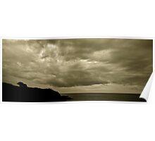 Durante il temporale a Lido Silvana Poster
