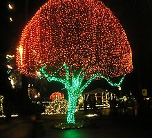 Shining Tree by AuntieBarbie