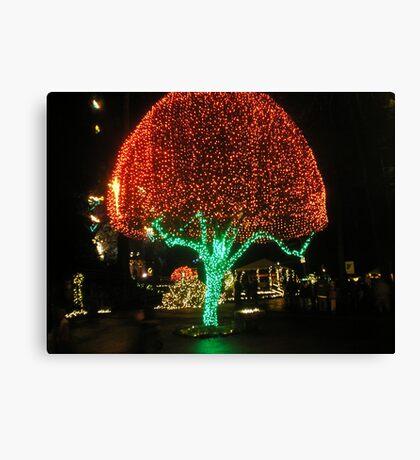 Shining Tree Canvas Print