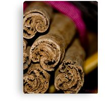 Cinnamon Ends Canvas Print