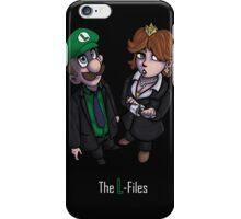 The L-files iPhone Case/Skin