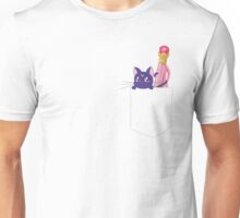 Double Luna Pen Pocket Unisex T-Shirt