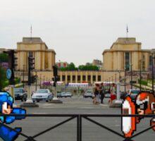 Megaman vs Protoman Sticker