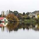 Daylesford Lake, Victoria, Australia by Sherene Clow