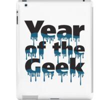Year of the Geek (Black) iPad Case/Skin