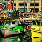 Fisherman's Wharf Holidaze by Bob Moore