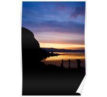 castle sunset Poster