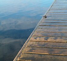 Jetty and Lake by mAriO vAllejO