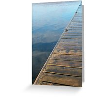 Jetty and Lake Greeting Card