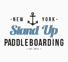 New York Stand Up Paddleboarding Clothing by Rachel La Bianca Designs