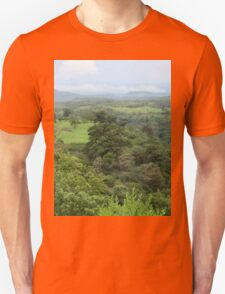 a large Haiti landscape T-Shirt