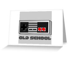 NES - Nintendo Entertainment System  Greeting Card