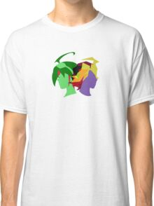 Arc V Ship Silhouette- Yuya/Shingo Classic T-Shirt