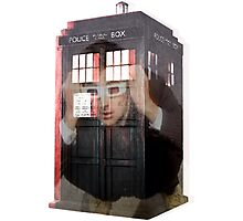 Doctor Who 3D TARDIS  Photographic Print