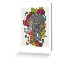 Ruby the elephant Greeting Card