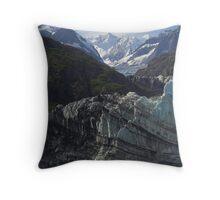 Margerie Glacier Alaska Throw Pillow