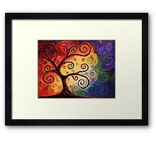 Twisted With Joy Framed Print