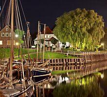 Harbor of Carolinensiel by derausdo