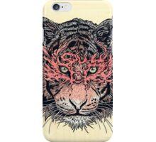 Masked Tiger iPhone Case/Skin