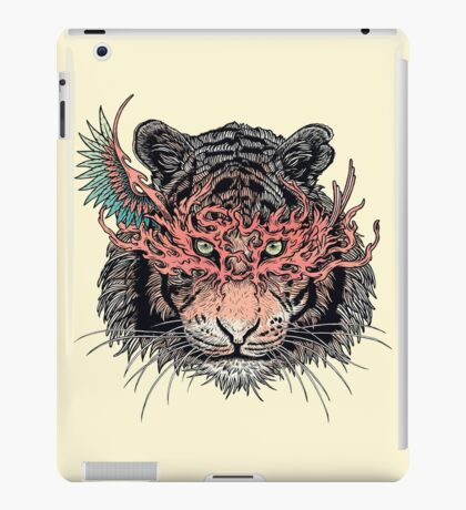 Masked Tiger iPad Case/Skin