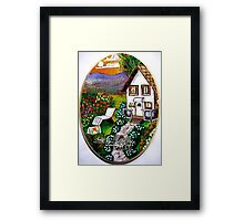 Lil country home Framed Print