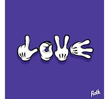 Love Hands Photographic Print