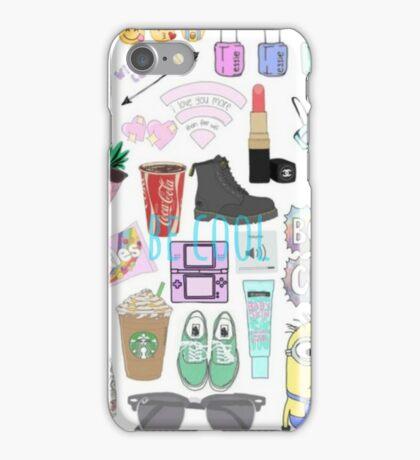 cool girly stuff iPhone Case/Skin