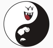 Boo/Bullet Bill Yin Yang Kids Clothes