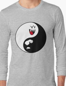 Boo/Bullet Bill Yin Yang Long Sleeve T-Shirt